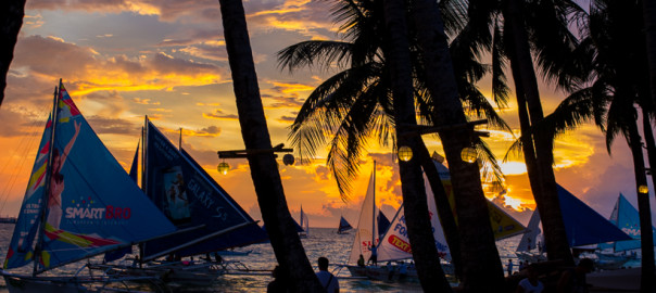 Boracay, beach, travel, philippines, sunset, asia