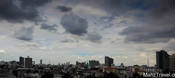 bangkok, travel, skyline, clouds, asia, rooftop