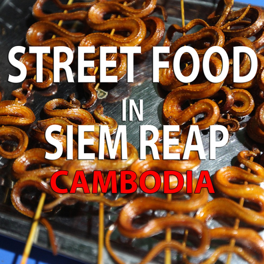 Siem Reap, Angkor Wat, best food in Siem Reap, street food Cambodia, Khmer food, Khmer Rouge, eat snake, eating insects, cricket, eat spider, fried snake, fried spider, fried cricket, Asia, Cambodia, ice cream, magic stick ice cream, homemade ice cream, fresh uice, passion fruit, healthy juice, how to make juice, guide to Siem Reap