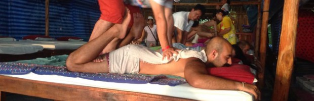 beach massage, Thai massage, Ao Nang